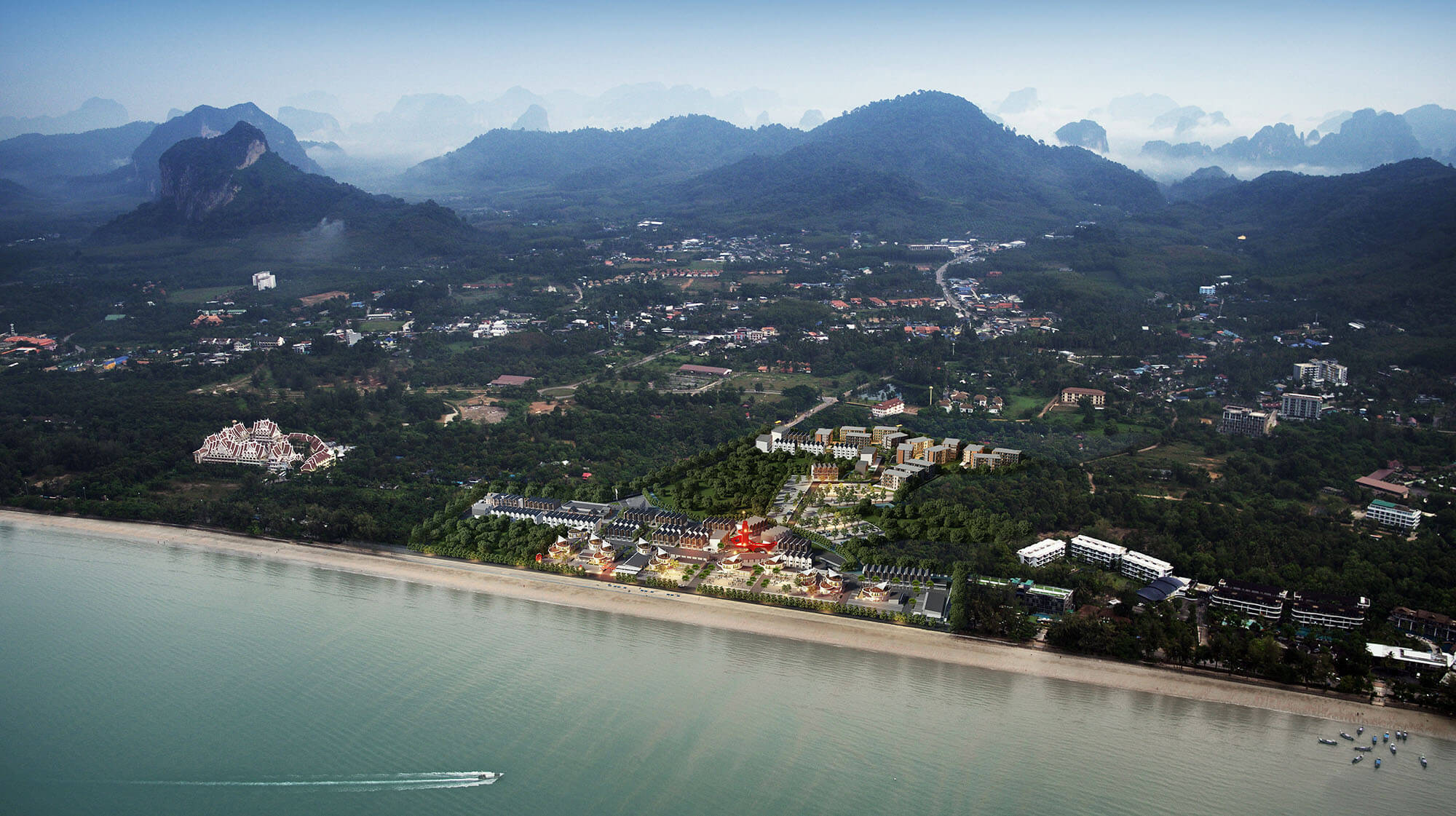 AO NANG LANDMARK bird view